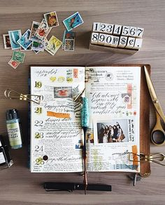 I bought a weekly layout insert many months ago because I was heavily inspired by @othersashas' gorgeous collage journals - and it ended up sitting in my drawer for ages!! Finally dug it out in the past week to use it, didn't know exactly what I was doing with it but I intend to use it as a daily journal with some calligraphy elements  PS. So bowled over by everyone who watched my flip through yesterday and left a lovely comment - thank you!! ☺️☺️ #ronnycakesTN #fujifilmmy #instaxmy