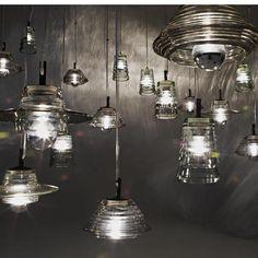 haus® - Pressed Glass Light - Bowl by Tom Dixon