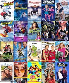 Brink, Halloweentown, Zenon, Smart House, Johnny Tsunami, Luck of the Irish, Tru Confessions & The Even Stevens Movie.