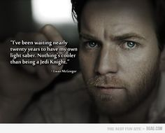 Just Ewan McGregor being awesome