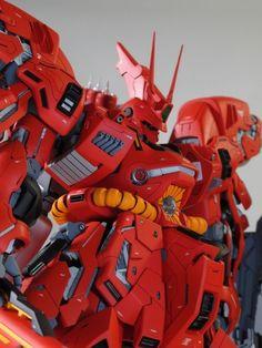 Custom Build: MG 1/100 MSN-04 Sazabi Ver. Ka [19th All Japan Ora-Zaku Championships Entry] - Gundam Kits Collection News and Reviews