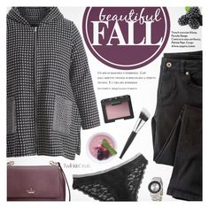 """Beautiful Fall"" by pokadoll ❤ liked on Polyvore featuring Wrap, Zoku, NARS Cosmetics, Kate Spade, polyvoreeditorial and polyvoreset"