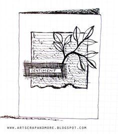 art scrap & more: A SKETCH & CARD (noel)