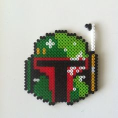 Boba Fett - Star Wars hama perler beads by idareu