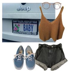 """""""#108 vibes"""" by irenegontiveros ❤ liked on Polyvore featuring Vans"""