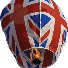 Union Jack Sky Lantern  by Ella James from notonthehighstreet
