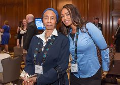 Mary McDowell Chalbi and Ayanah Rashad