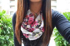 hair & scarf. ♡
