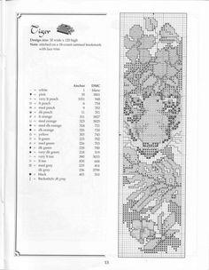 Cross-stitch Tiger Bookmark...   Gallery.ru / Фото #5 - 326 - elypetrova