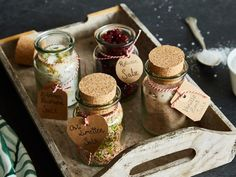 Aromatisiertes Salz in 4 Sorten zum Verschenken