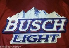 Ebay Busch Light Beer Sign Wall Clock Beer And Cigars