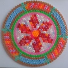 Mandala hama perler beads by kirsten_l_n
