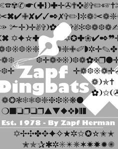 Dingbat Symbol  Fonts    Symbols
