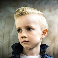 Junior Pompadour Blonde *** See the whole article at >>> http://haircutinspiration.com/pompadour-hairstyle #pompadour #hairstyle #men