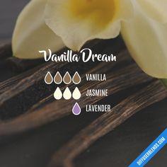 Vanilla Dream - Essential Oil Diffuser Blend - #accentnails #accent #nails