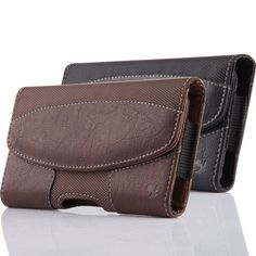 Cell Phone iPhone Horizontal Leather Carrying Pouch Case Cover Belt Clip Holster | eBay