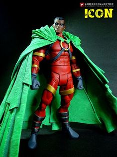 superheroesincolor:  Icon Custom Action Figure byloosecollector(Hat tip tooppositeoffaithfor letting me know)