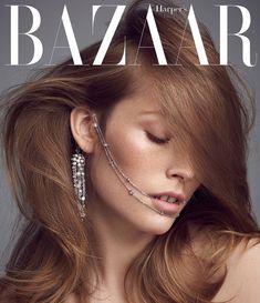 Photography:Andreas Ortner. Styled by: Jana Kapounová. Hair: Martin Tyl. Makeup:Hristina Georgievska. Model:Caroline Lossberg.