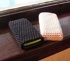Eggheaded Momma: How to crochet a cell phone sleeve or ANY little bag