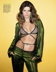ISABELI FONTANA BY TERRY RICHARDSON FOR VOGUE MEXICO