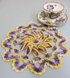 Ravelry: Pretty Pinwheel Doily pattern by Elizabeth Ann White