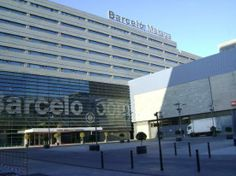 Barcelo Malaga hotel - stayed here on our last night in Spain