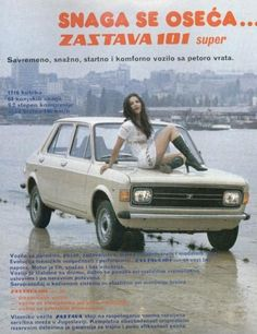 Arrived in the UK as a Zastava and then later sold as a Yugo, this was basically a Fiat 128 with a rear hatch in place of the regular boot.
