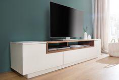 banking landelijk - Lilly is Love Tv Unit Interior Design, Tv Wall Design, Tv Storage, Home Tv, Home Room Design, Tv Cabinets, House Rooms, Floating Nightstand, Living Area