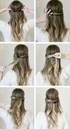 7 días, 7 peinados: ¡Luce tu pelo diferente cada día! |Cuestiones de mujeres By C.