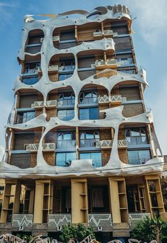 """The front of the """"Crazy House,"""" Tel Aviv. Photo by Fotokon/Shutterstock.com"""