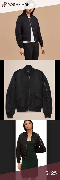 78d34f28d91e00 Aritzia Tall Whitby Bomber Aritzia Tall Whitby Bomber - BRAND NEW - NWT  Taking inspiration from