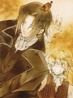 Glen Baskerville and Jack Vesslalius /  Pandora hearts