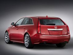 CTS-V Wagon. You know. For the kids.