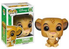 Amazon.com: Funko POP! Disney: The Lion King Simba Action Figure: Toys & Games