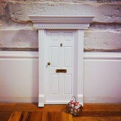 Oui Oui Puerta ratoncito Pérez, Tooth Fairy door, kids, original present,cute,deco kids,white, milk churn