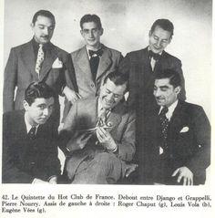 1942 Django – Le Quintette du Hot Club de France