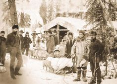 "The Klondike Gold Rush, also called the Alaska Gold Rush among others, was a migration by an estimated 100,000 prospectors to the Klondike region of the Yukon in north-western Canada between 1896 and 1899. Gold was discovered on August 16, 1896 and, when news reached Seattle and San Francisco the following year, it triggered a ""stampede"" 30,000 and 40,000 managed to arrive. Some became wealthy; however, and only around 4,000 struck gold. The Klondike Gold Rush ended in 1899."