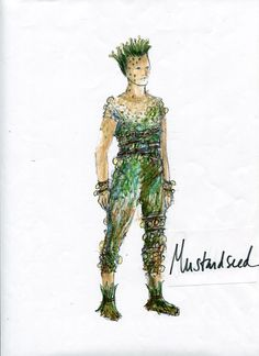 A Midsummer Night's Dream (Mustardseed). Costume design by Martha Hally. Midsummer Night's Dream Characters, Midsummer Night's Dream Fairies, Midsummer Nights Dream, Shakespeare Midsummer Night's Dream, Fairy Fancy Dress, Peter Pan Costumes, Costume Design Sketch, Ella Enchanted, Candy Costumes