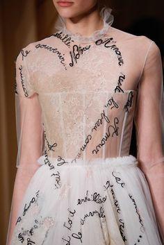 Valentino Spring 2015 Couture Fashion Show Details