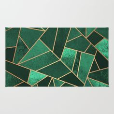 Buy Area & Throw Rugs with design featuring Emerald and Copper by Elisabeth Fredriksson and adorn your home with both style and comfort. Available in three sizes x x x Living Room Green, Bedroom Green, Green Rooms, Living Room Decor, Living Rooms, Emerald Green Rug, Emerald Green Bedrooms, Emerald City, Emerald Bedroom