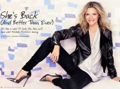 How to Wear Fall's Punk Trend When You're a Grown -Up Gal check out Michelle Pfeiffer punk rock look