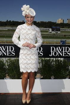 Emma Freedman Pictures - Celebrities Attend AJC Australian Derby Day - Zimbio