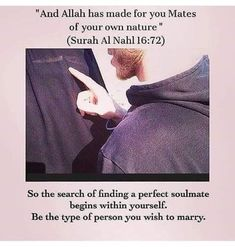 realise that nobody is perfect but to make a relationship work we need to learn to compromise with one another. Islam Hadith, Alhamdulillah, Islam Quran, Beautiful Islamic Quotes, Islamic Inspirational Quotes, Islamic Qoutes, Islamic Teachings, Arabic Quotes, Hijab Quotes