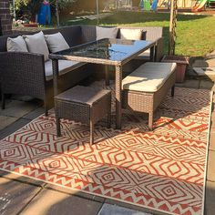Terra Flatweave Outdoor Rug - Habitat | Kukoon Rugs Official Online Store Outdoor Runner Rug, Indoor Outdoor Rugs, Outdoor Decor, Design Patio, Patio Rugs, Farmhouse Rugs, Cheap Rugs, Natural Rug, Home Rugs
