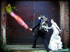 My Ghostbusters Wedding photos