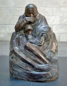 La Pietá Kollwitz en el Neue Wache de Berlín