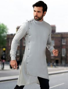Mens Short Pathani Buy Mens Wedding & Party wear short pathani kurta at discounted prices. Exclusive Short pathani collection of Linen short pathani kurta, Cotton Short Pathani, Silk fabric short pathani. Mens Indian Wear, Mens Ethnic Wear, Indian Groom Wear, Indian Men Fashion, Indian Man, Mens Fashion Suits, African Fashion, Kurta Pajama Men, Kurta Men