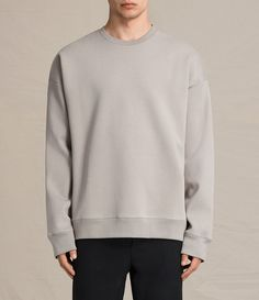 Mens Hibern Crew Sweatshirt (Putty Brown) - product_image_alt_text_1