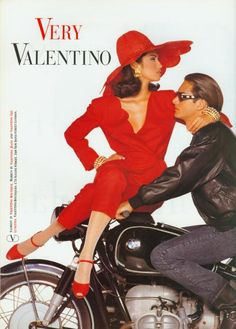 Valentino, 1992  Model: Yasmeen Ghauri