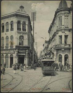Largo S Bento  Ano: 1902  Autor: Guilherme Gaensly